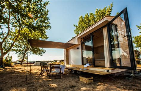 diy tiny vacation home handmade getaway on wheels