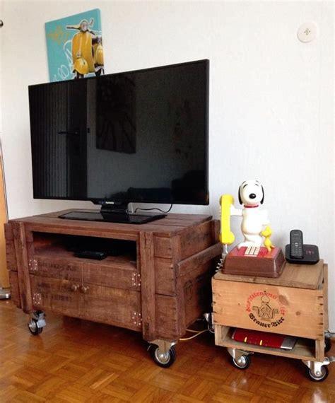 Idee Palette Meuble by 1001 Id 233 Es Meuble Tv Palette Le Recyclage En Cha 238 Ne