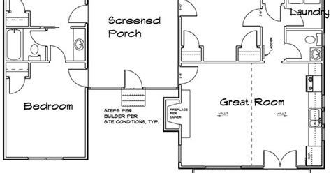3 bedroom dog trot house plan 92318mx architectural plan 92318mx 3 bedroom dog trot house plan dog trot