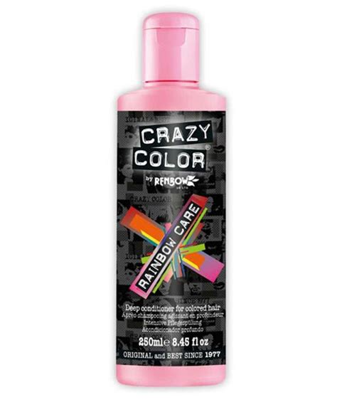 good deep conditioner for bleach hair renbow crazy color crazy color rainbow care deep