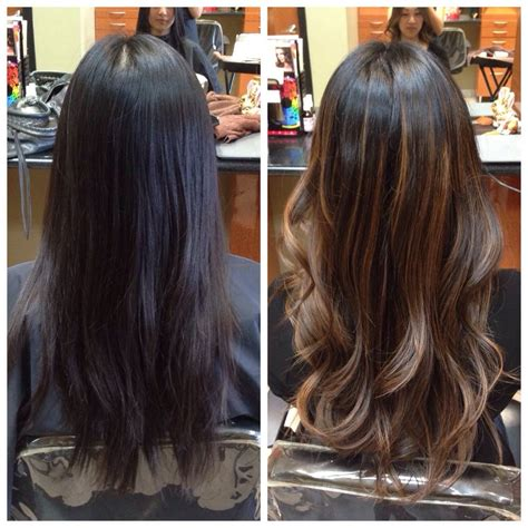 balayage highlights before and after home kit before and after balayage ombr 233 yelp