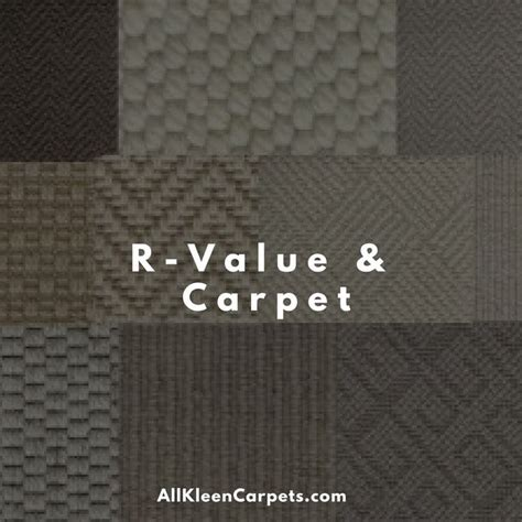 what is r value in carpet - Which Has More R Value Carpet Or Carpet Pad