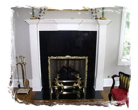 Hanging Fireplace Screen by Hanging Screen 8 Northshore Fireplacenorthshore Fireplace