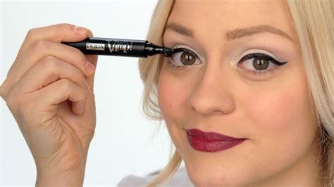 tutorial eyeliner penna video tips come si applica l eyeliner lo specchio di