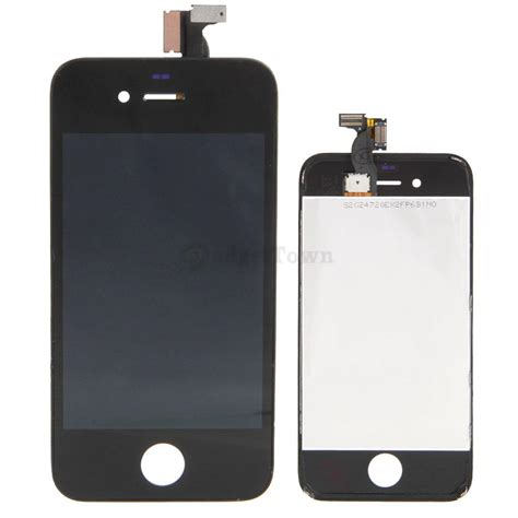 Hp Iphone A1387 black gsm frame touch lcd screen digitizer assembly for
