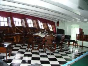 hms victory nelson and cabin on