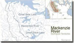 mackenzie river map