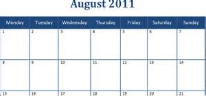 Monthly Calendar Template Word by Best Photos Of 2011 Calendar Word Microsoft Word