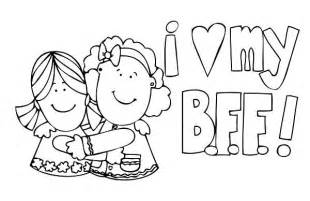 best friend coloring pages best friends coloring pages 27945 bestofcoloring