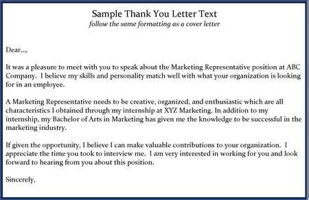 thank you letter for an interview sample oyle kalakaari co