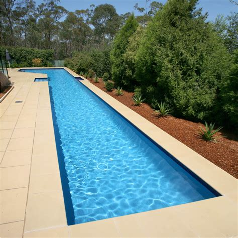 in ground lap pools in ground swimming pool stone lap mosaic oxfordshire