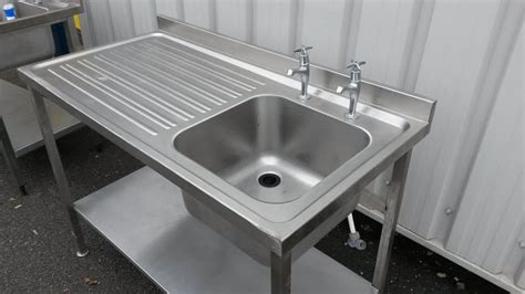 Used Commercial Kitchen Sinks Commercial Stainless Steel Sinks Used Befon For