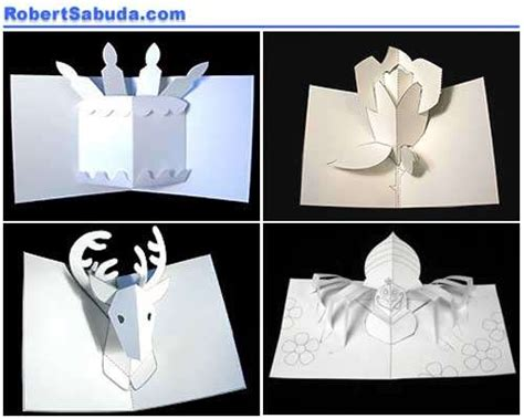 Diy 3d Pop Up Birthday Card Template by Popup Card Patterns 171 Browse Patterns