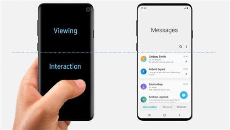 Samsung Galaxy S10 Gsmarena by Samsung Article On One Ui Accidentally Shows Galaxy S10 Design Gsmarena News