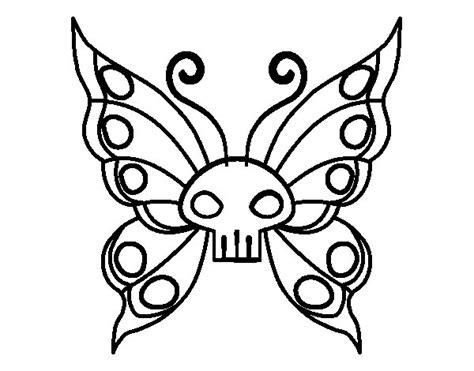 dibujo de mariposa pintar im genes dibujo de mariposa emo para colorear dibujos net