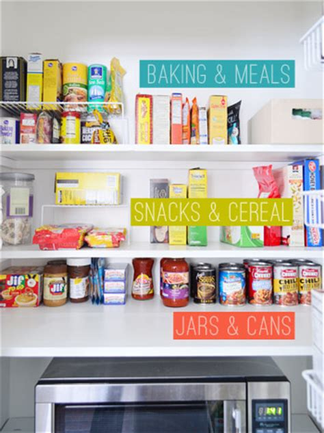 Pantry Shelf Labels by Adding Tons Of Pantry Storage Function House