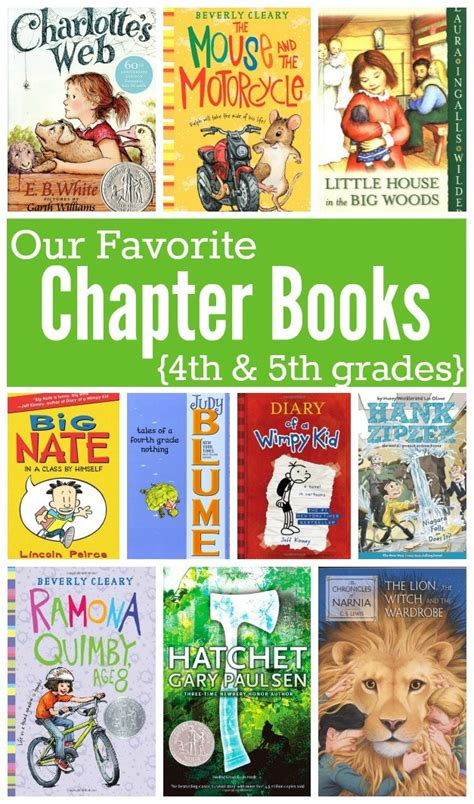 fourth grade picture books favorite chapter books for in 4th and 5th grades