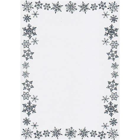 Break Letter With Snow best images of free printable snowflake borders snowflake border