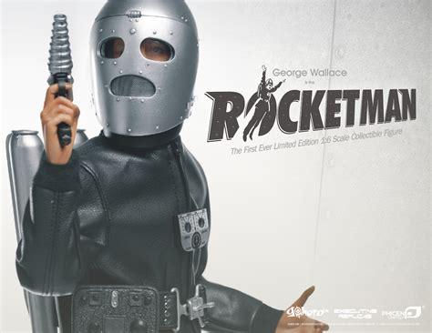 rocket man sixth scale rocketman plastic and plush