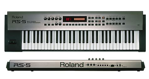 Keyboard Roland Rs 50 roland rs 5 synthesizer direct