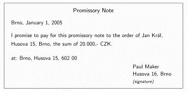 Amendment To Promissory Note Template