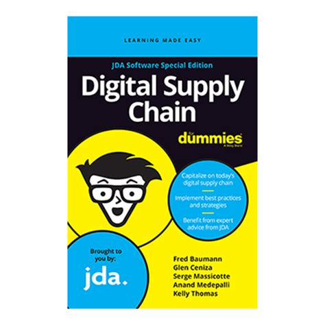 global logistics for dummies books jda releases digital supply chain for dummies book