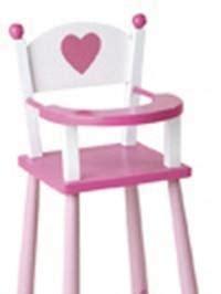 chaise haute pour poupee chaise haute pour poupee ref 1319