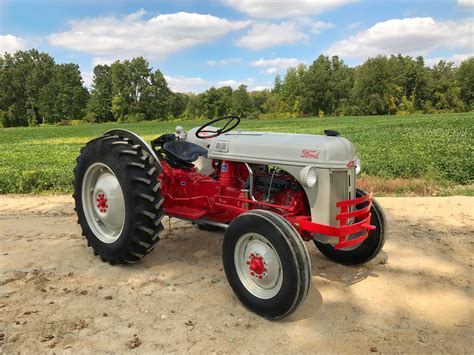 8n ford tractor win an time tractor on steiner tractor parts ford 8n