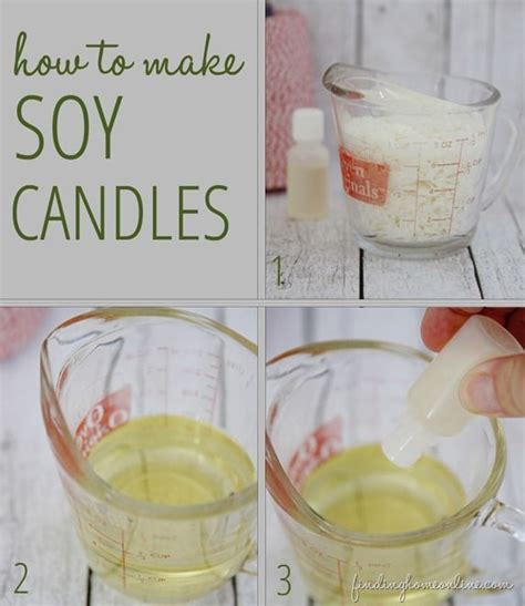 Handmade Soy Candles - handmade gifts how to make diy soy candles home soy