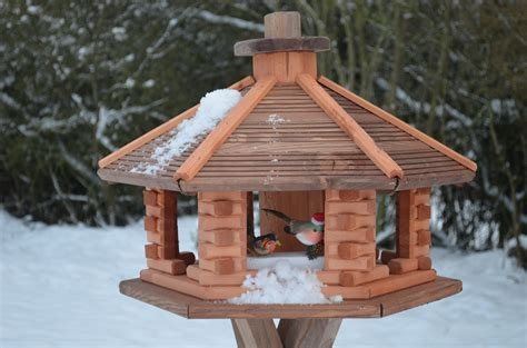 large wooden bird feeder unique bird feeder