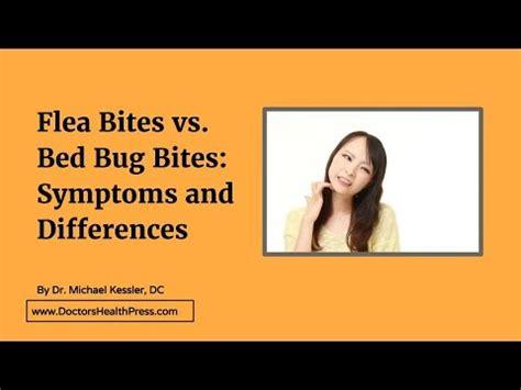 flea bites  bed bug bites symptoms  differences doctors health press youtube