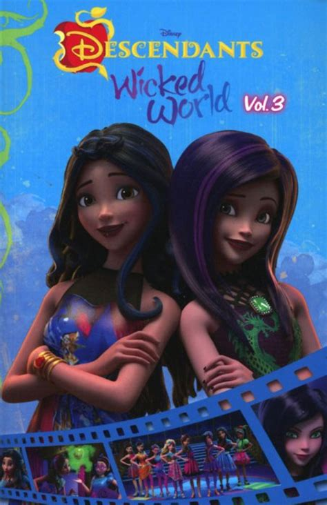 disney descendants the rotten to the trilogy volume 3 disney descendants books disney s descendants world wish granted shorts tpb