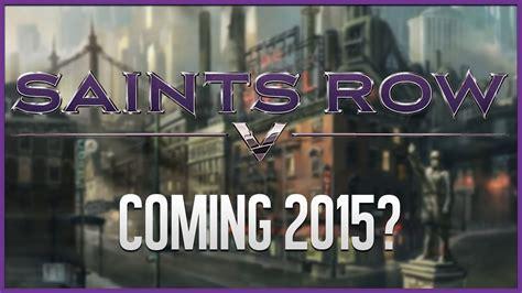 saints row 5 saints row 5 coming 2015 youtube