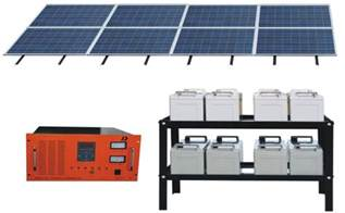 Home Solar Power System by China Solar Energy System For Home 1000w 48v240ah