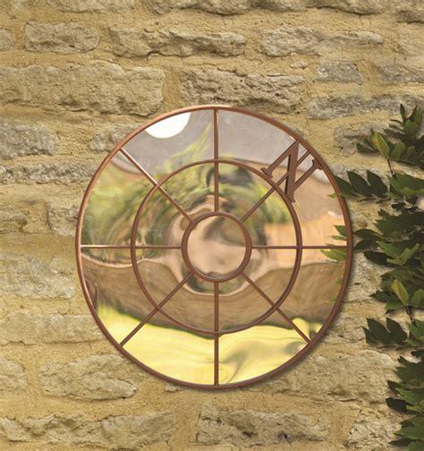 smart garden compass garden mirror