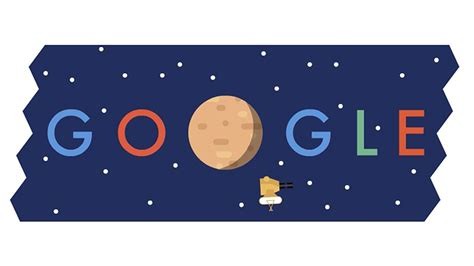doodle for 2015 sign up celebrates the new horizons pluto flyby with an