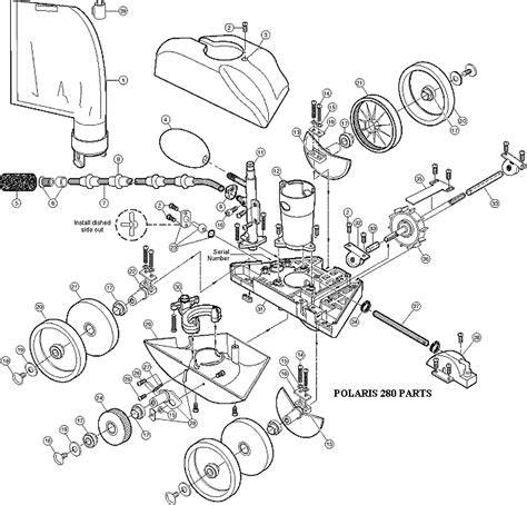 polaris pool parts diagram polaris pool cleaner parts car interior design