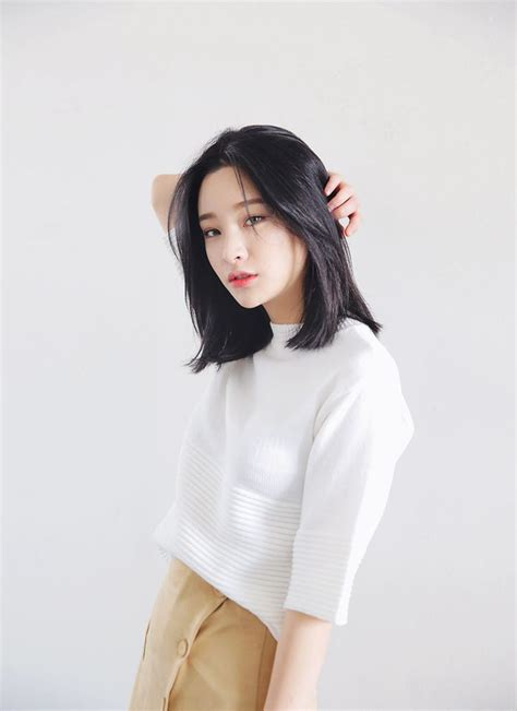 Korean Hairstyles For Hair by 25 Best Ideas About Asian Bob Haircut On