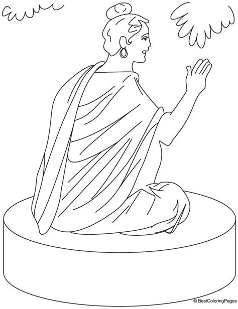 buddha coloring pages coloring home
