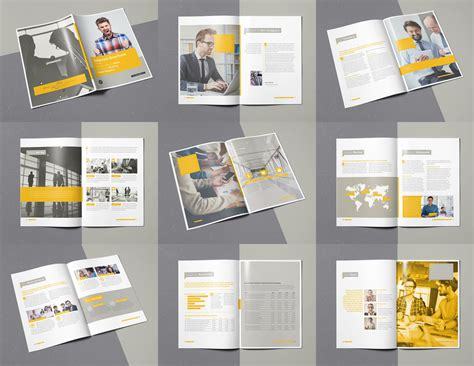 template indesign brochure a4 selected brochure 20 pages a4 template indesign by