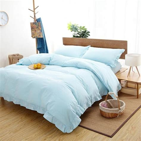m s bed linen bedding set washed cotton luxury bed set bed cover