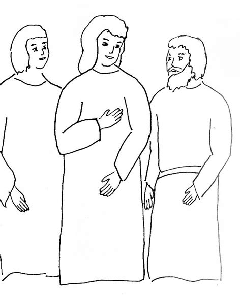 coloring page of jesus on the road to emmaus road to emmaus coloring page az coloring pages