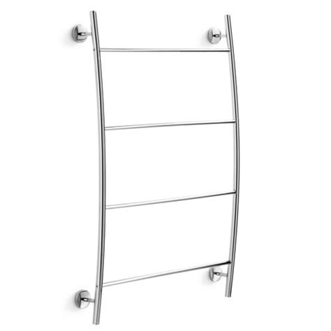 wall mounted towel racks for bathrooms ws bath collections noanta wall mounted towel rack
