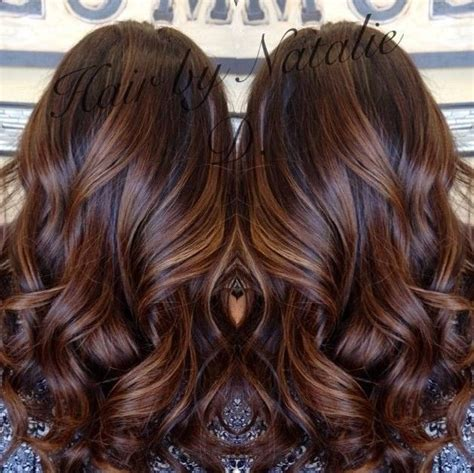 long brown hairstyles with parshall highlight 17 best ideas about dark caramel hair on pinterest dark