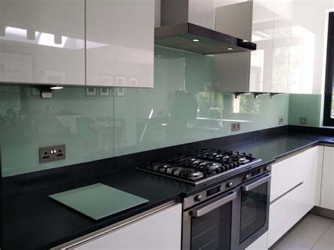 25 best ideas about glass splashbacks on