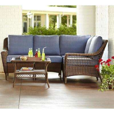 home depot outdoor sectional patio conversation sets outdoor lounge furniture the