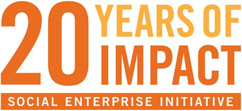 Social Enterprise Mba by Social Enterprise Initiative Marks 20th Anniversary