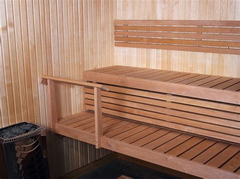 sauna benches ready made sauna benches harvia sauna