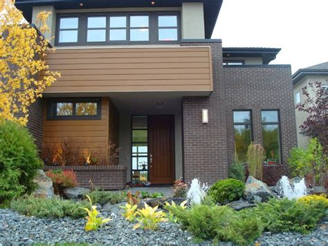 Modern Brick House by Modern Brick Home Modern Exterior Edmonton By Cast