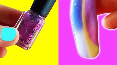 how to make color changing nail diy color changing slime with nail how to make